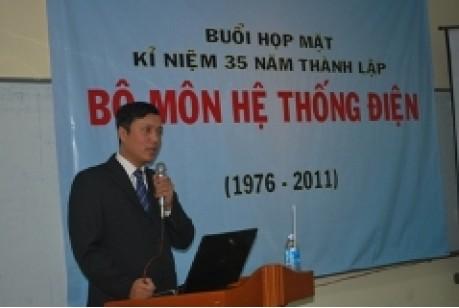 Lễ kỷ niệm 35 năm thành lập bộ môn